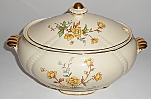 Taylor Smith Taylor Buttercup Soup Tureen - Very Rare