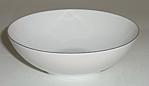 Thomas China Platinum Band Fruit Bowl! (Image1)