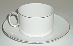 Thomas China Platinum Band Cup /Saucer Set! (Image1)