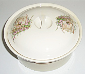 Coors Pottery Open Window Straight Casserole W/Lid! (Image1)