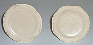 Camark Pottery Matte Ivory #834 Pr Candlestick Holders! (Image1)
