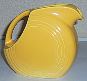 Hlc Vintage Fiesta Yellow Juice Pitcher
