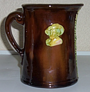 Weller Pottery Dickens Ware Pitcher! (Image1)