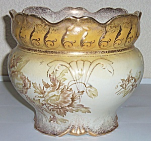 Taylor Smith Talyor Pottery Early Floral Decorated W/Go (Image1)