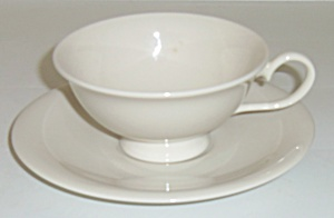 Flintridge China Bon-Lite Cup & Saucer Set! MINT (Image1)