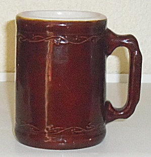 Burely And Winter Pottery Early Duo-tone Stoneware Mug! (Image1)