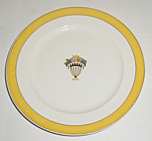 Chas Field Haviland Limoges Fruit Basket Dessert Plate! (Image1)