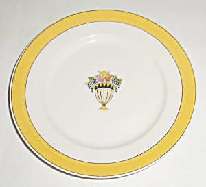 Chas Field Haviland Limoges Fruit Basket Bread Plate! (Image1)
