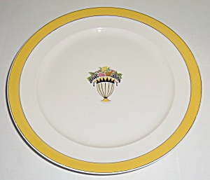 Chas Field Haviland Limoges Fruit Basket Dinner Plate! (Image1)