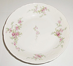Theodore Haviland Limoges China Floral Fruit Bowl! (Image1)