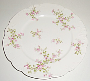 Haviland & Co China Floral Decorated Scalloped Dinner
