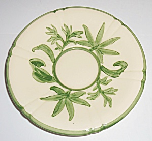 Franciscan Pottery Wildflower Very Rare Jumbo Saucer! (Image1)