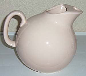 Franciscan Pottery Fiesta Pink Ice Lip Ball Pitcher! (Image1)