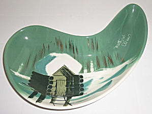 Matthew Adams Pottery Alaska Series Jawbone Bowl! (Image1)