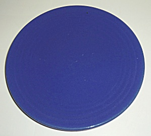 Bauer Pottery Ring Ware Cobalt 1st Period Lunch Plate! (Image1)