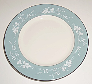 Royal Doulton China Reflection Bread Plate! MINT! (Image1)