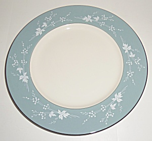 Royal Doulton China Reflection Dinner Plate! MINT! (Image1)
