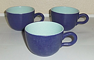 Franciscan Pottery Malibu Set/3 Cups! (Image1)