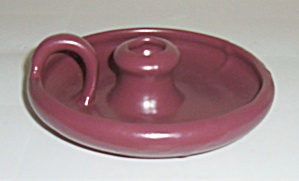 Zanesville Stoneware Pottery #d-15 Matte Rose Early Cha
