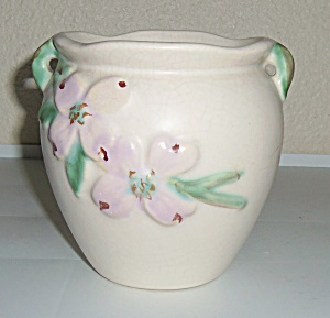 Weller Pottery Bouquet Pink Dogwood #B-15 Vase! (Image1)