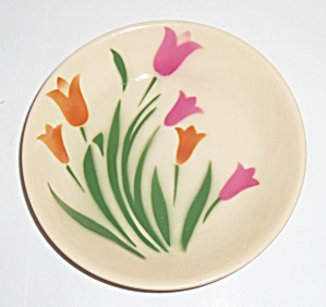 Syracuse China Pottery 1930's Tulip Cereal/Oatmeal Bowl (Image1)