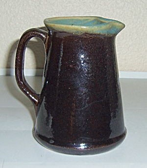 Zanesville Stoneware Pottery Country Fare Pitcher! (Image1)