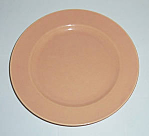 Franciscan Pottery El Patio Gloss Coral Lunch Plate! (Image1)