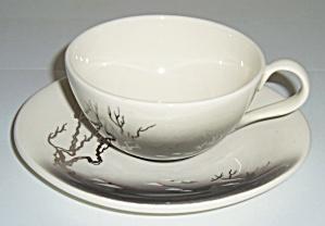 Brock Pottery Manzanita Cup / Saucer Set! (Image1)