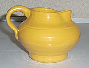Bauer Pottery Matt Carlton Plain Ware Yellow Demi Cream (Image1)