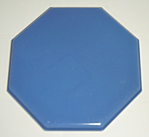 Franciscan Pottery Hermosa Blue Tea Tile Trivet