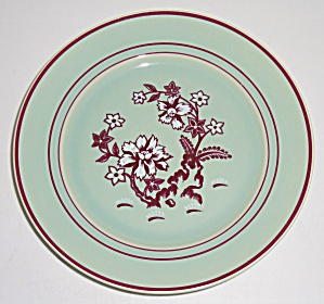 Franciscan Pottery Tiger Flower Bread Plate! MINT! (Image1)