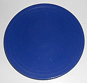 Bauer Pottery Ring Ware 1st Period Cobalt Salad Plate! (Image1)