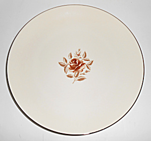 Flintridge China Marlys Dinner Plate!  MINT! (Image1)