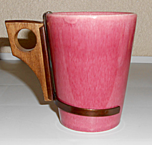 Metlox Pottery Poppy Trail Series 200 Old Rose Tumbler! (Image1)