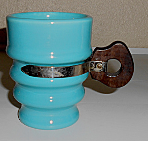 Metlox Pottery Series 200 Turquoise 236-7 Coffee Mug
