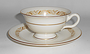 Castleton China Carlton Cup & Saucer Set!  MINT! (Image1)