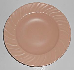 Franciscan Pottery Coronado Satin Coral Rim Soup Bowl! (Image1)