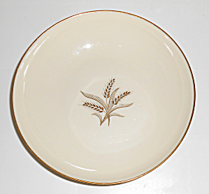 Lenox China Wheat R 442 Coup Soup Bowl! MINT! (Image1)