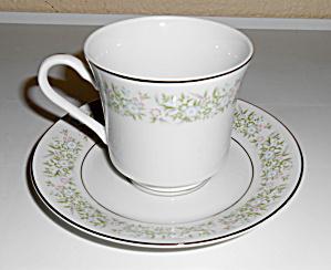 Taihei China Pottery Springtime Floral Cup/Saucer Set! (Image1)