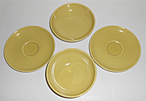 Russel Wright Pottery Casual China Avocado Set/4 Pieces