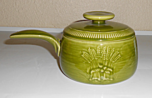 Franciscan Pottery Winter Green Wheat Individual Cass