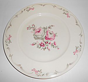 Castleton China Belrose Dinner Plate!  (Image1)