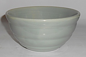 Bauer Pottery Gloss Pastel Kitchenware Grey #30 Mixing  (Image1)