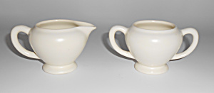 Franciscan Pottery Catalina Rancho Demi Creamer/Sugar ! (Image1)
