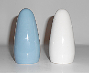 Metlox Pottery PoppyTrail Shoreline Salt/Pepper Set! (Image1)