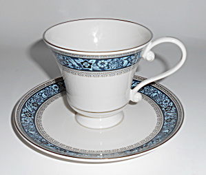 Pickard China Overture Cup & Saucer Set