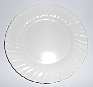 "Franciscan Pottery Coronado Satin Ivory 8"" Plate! (Image1)"