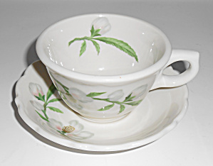 Syracuse China Park Lane Restaurant Cup/saucer Set Mint