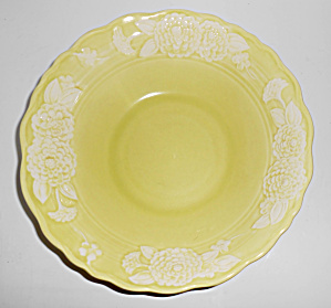Metlox Pottery Poppy Trail Flora Lace Vegetable Bowl!  (Image1)