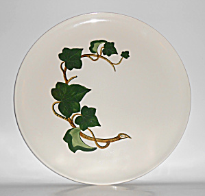 Metlox Pottery Poppy Trail California Ivy Chop Plate!  (Image1)
